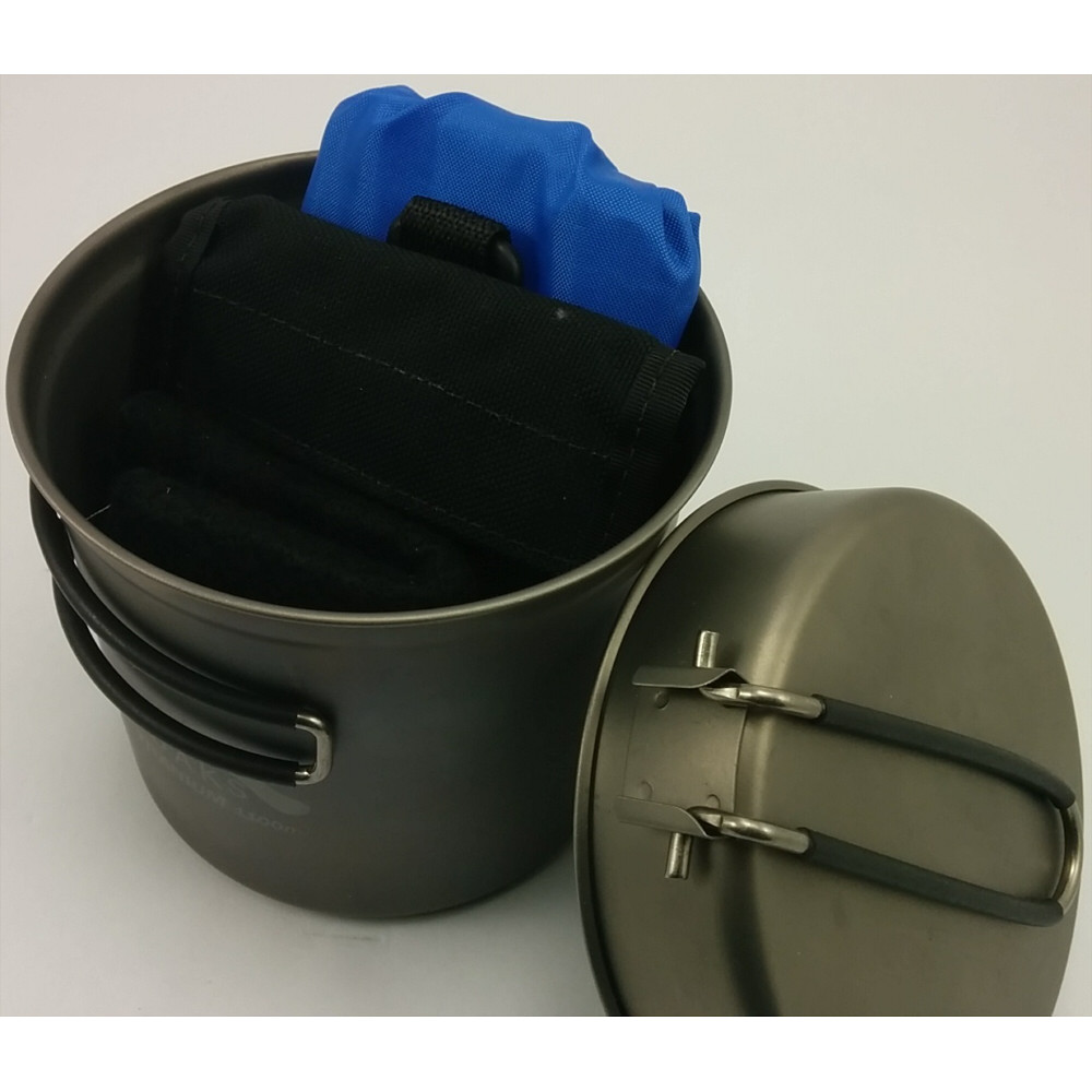 *OUT OF STOCK* Titanium 1100ml Pot and Pan