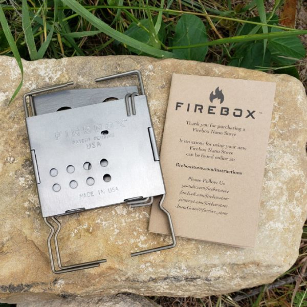 Gen2 Stainless Firebox Nano Ultralight Stove