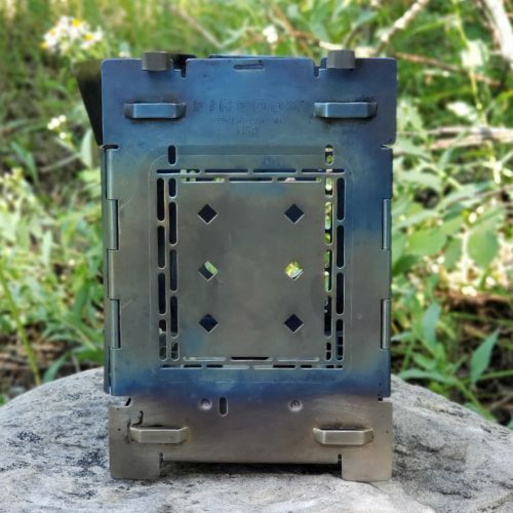 """(Pre-Order) Titanium G2 5"""" Firebox Stove + Free Ti Extended Grill Plate"""