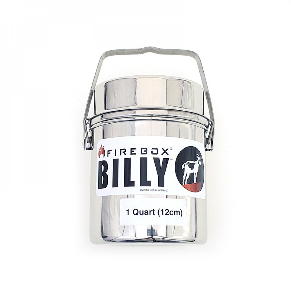 Firebox Billy Bush Pot 1 Qrt  (12cm)