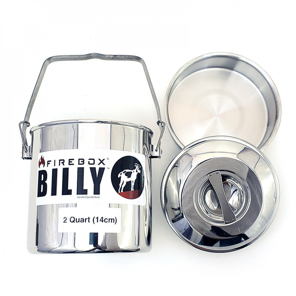 Firebox Billy Bush Pot 2 Qrt (14cm)