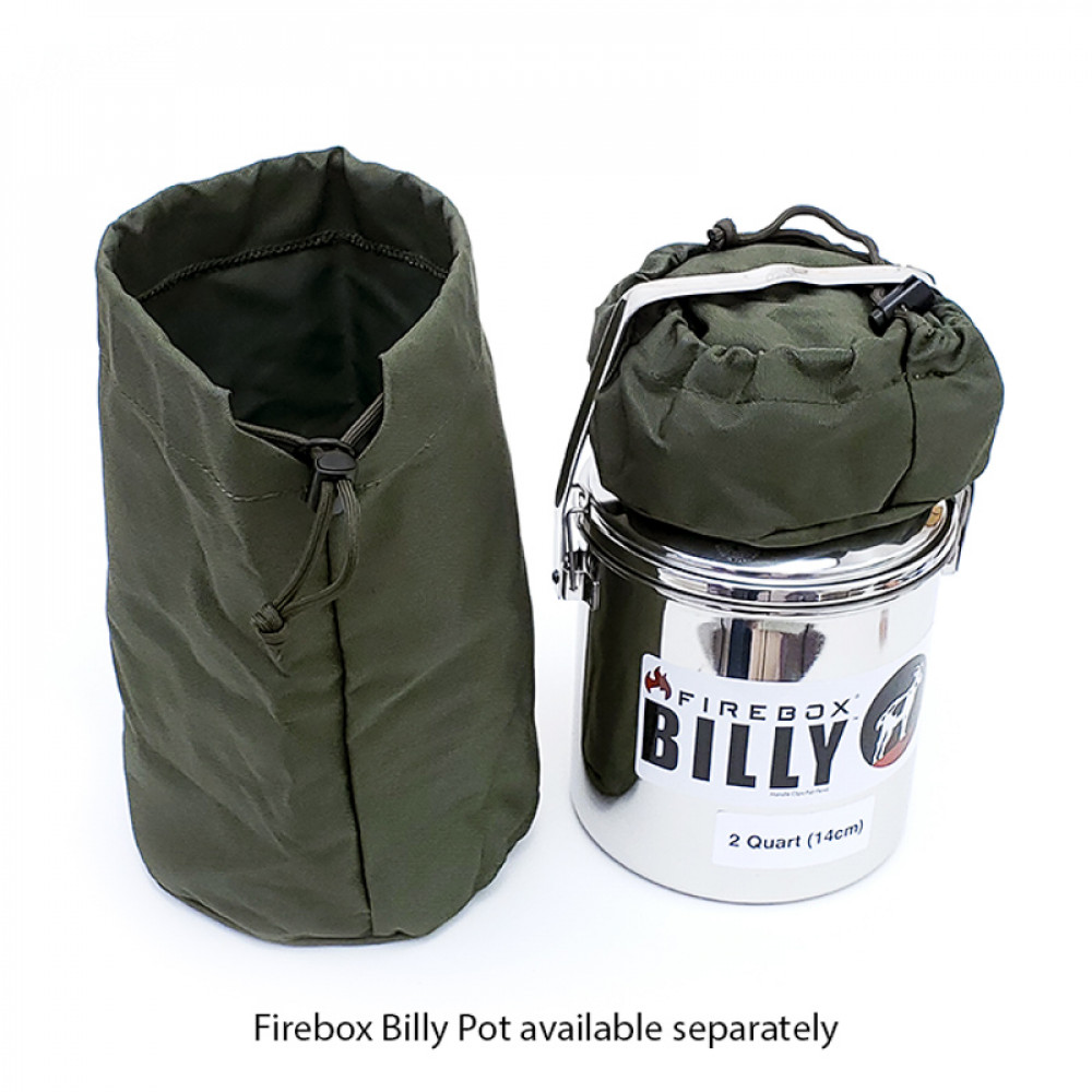 Firebox Billy Pot CASE, 1 Qrt (12cm)