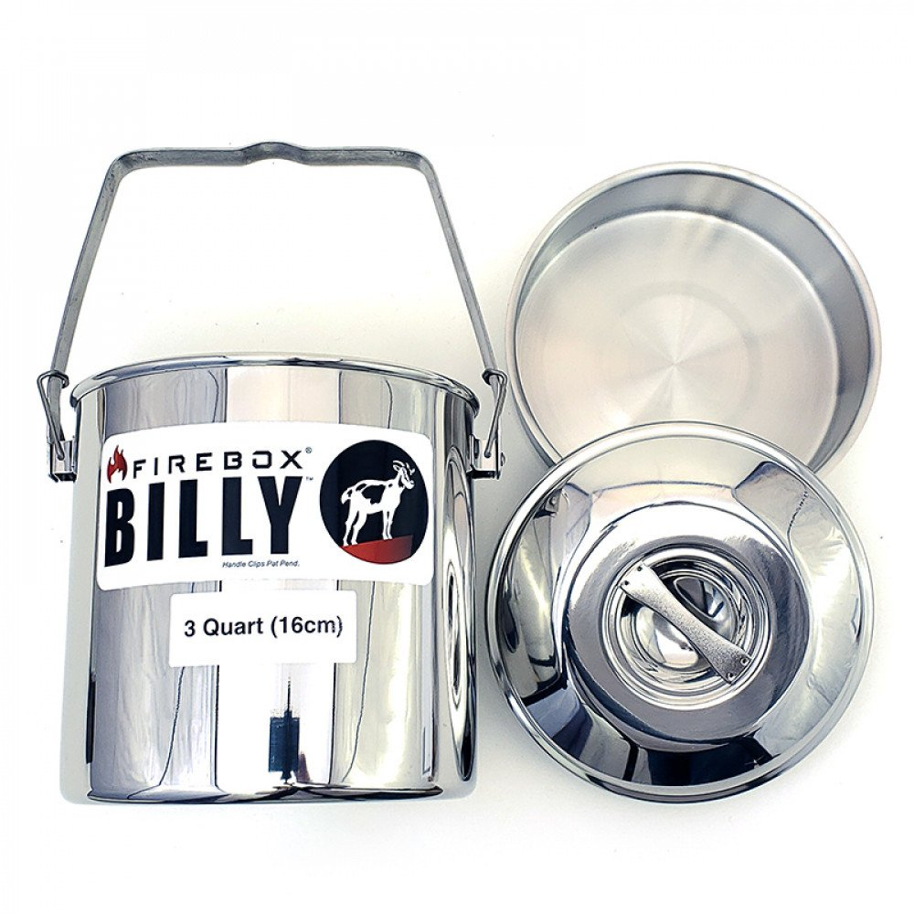 Firebox Billy Bush Pot 3 Qrt (16cm)