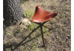 Leather Camp Seat