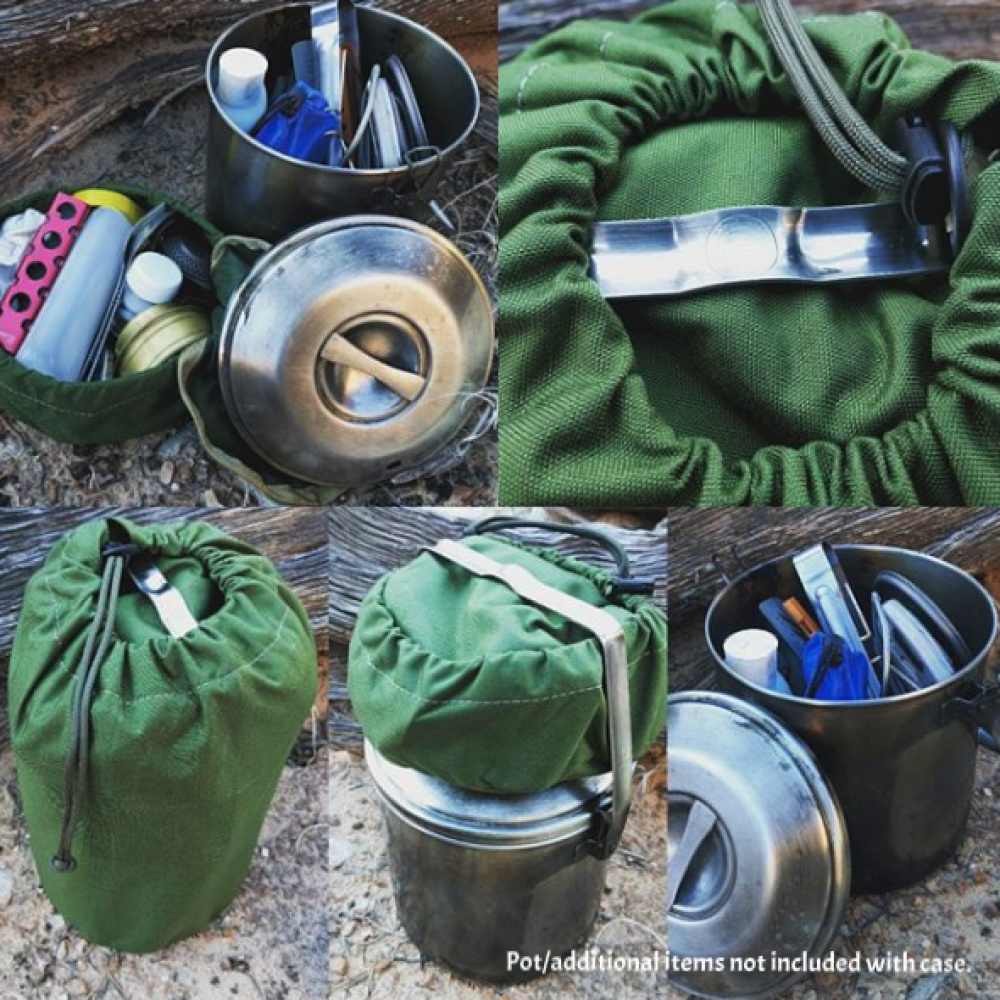 Cordura Case for 2 Quart (14cm) Billy Can