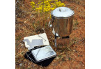 Backpackers Stainless Nano Cook Kit