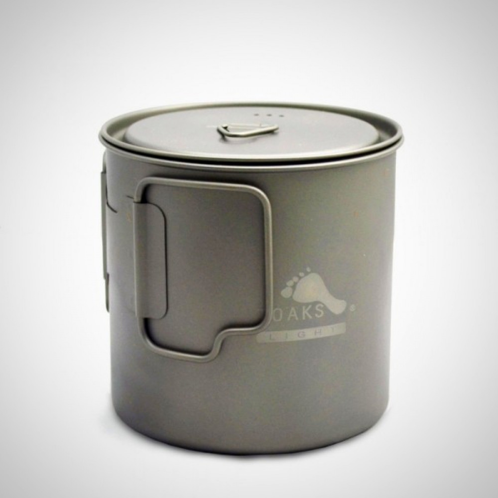 Titanium 650ml Space Saver Cup / Pot