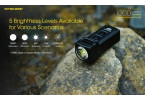 NITECORE TUP 1000 Lumen Small Rechargeable Flashlight; 1.88oz