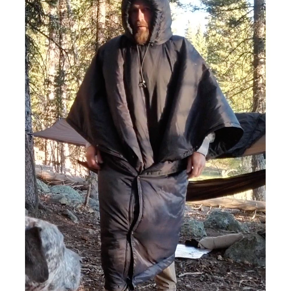 Osni Insulated Under Quilt / Poncho Coat