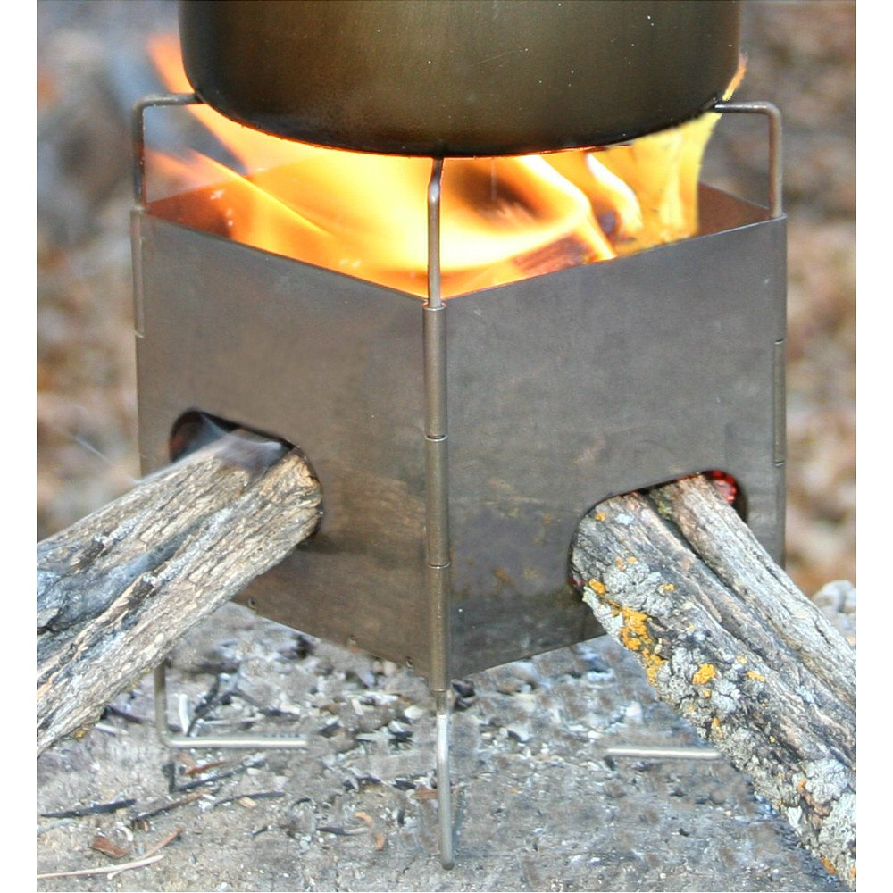 Gen2 Titanium Folding Firebox Nano 4 oz Ultralight Stove
